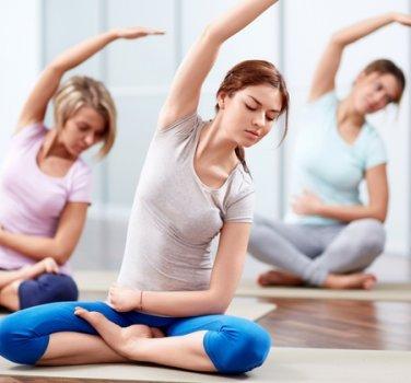 Yoga Derslerimiz Başladı